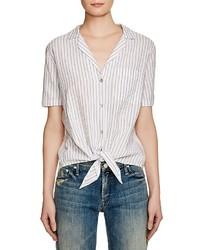 Keira tie stripe shirt medium 430057