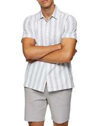 Topman Oxford Short Sleeve Button Up Shirt