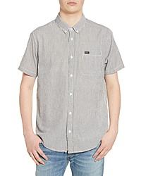 RVCA Thatll Do Seersucker Woven Shirt