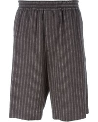 MSGM Elasticated Striped Shorts