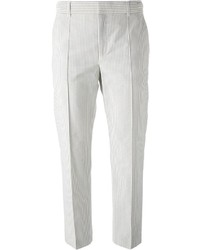 Paul smith paul by cropped striped trousers medium 217672