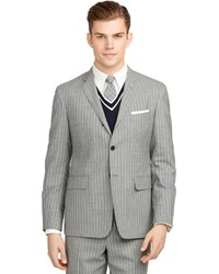 Brooks brothers stripe darted suit medium 184284
