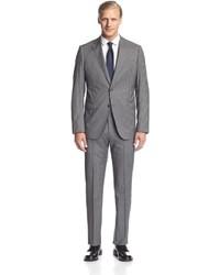 Armani Collezioni Stripe 2 Button Notch Lapel Suit
