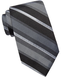 Collection Collection By Michl Strahan Stripe Silk Tie Extra Long