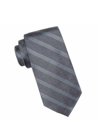 Collection Collection By Michl Strahan Windsor Striped Silk Tie