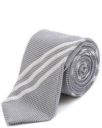 Drakes Drakes Striped Silk Grenadine Tie