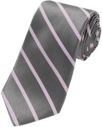 Ike Behar Fancy Stripe Silk Tie