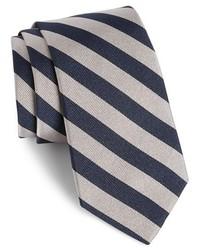 Gitman stripe silk tie medium 219962