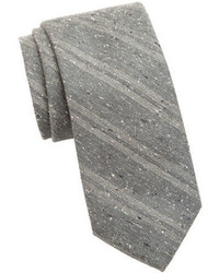 Cole Haan Narrow Striped Silk Tie