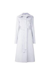 Jil Sander Striped Boxy Trench Coat