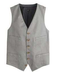 J.Crew Ludlow Suit Vest In Italian Chino