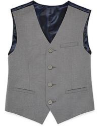 Izod Sharkskin Suit Vest Boys 8 20