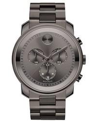 Movado 44mm Bold Chronograph Watch Gray