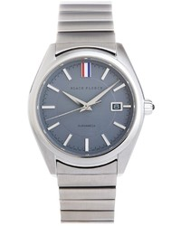 Brooks Brothers Grey Metal Band Watch