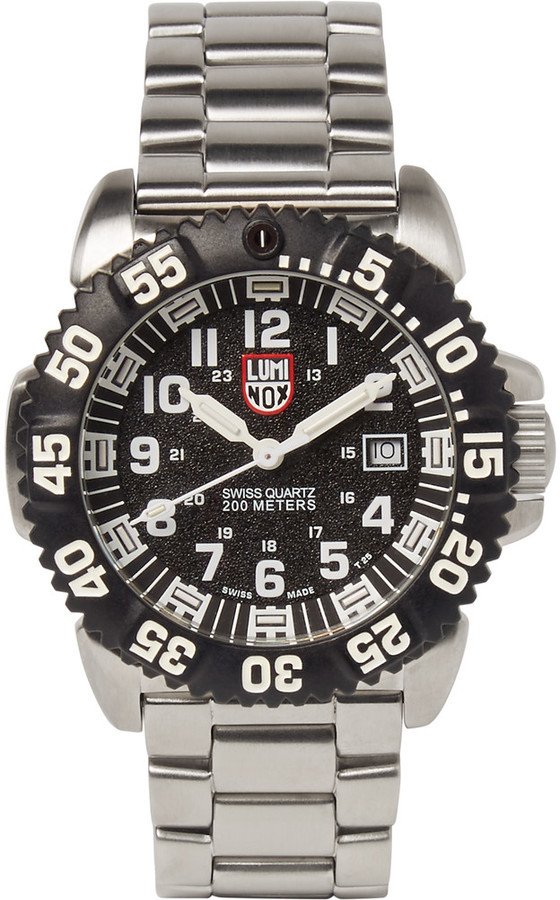 2eff4d83507e ... Luminox Navy Seal Colormark 3152 Series Stainless Steel Watch ...