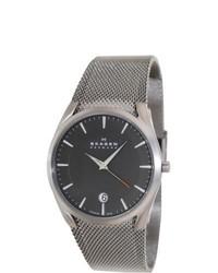 Skagen Aktiv Grey Dial Quartz Watch
