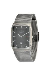 Skagen Aktiv Grey Mesh Titanium Watch