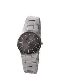 Skagen Stainless Steel Grey Dial Watch