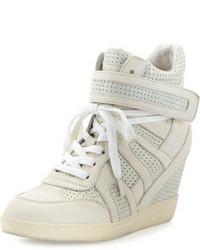 Grey wedge sneakers original 1595211