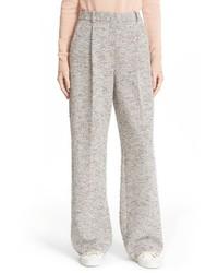 Theory Adamaris Wide Leg Tweed Pants
