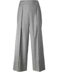Chanel Vintage Wide Leg Tailored Trousers