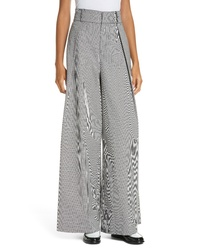 Opening Ceremony Houndstooth Wide Leg Trousers