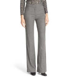 Wide leg flannel trousers medium 1055517