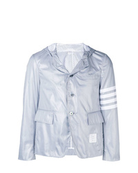 Thom Browne 4 Bar Hooded Sport Coat