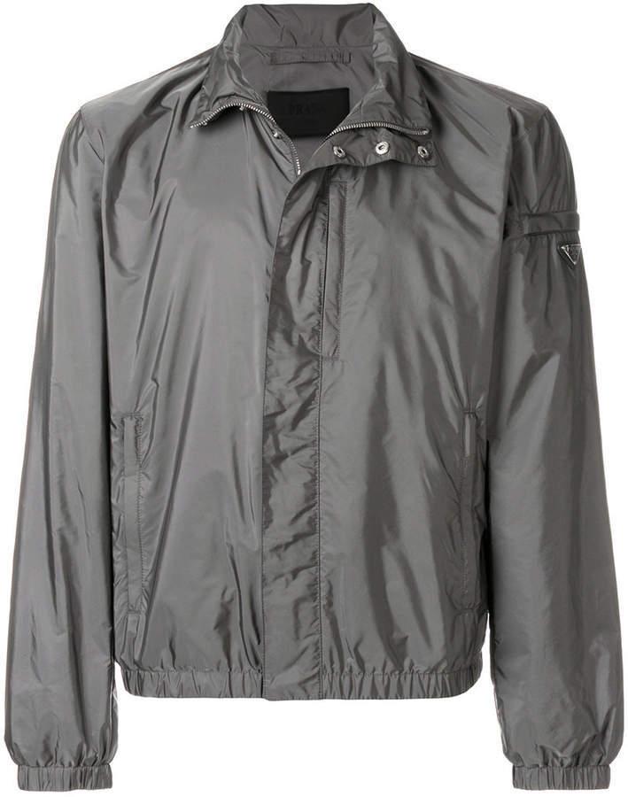 e6892b3ae7da Prada Classic Windbreaker Jacket, $774 | farfetch.com | Lookastic.com