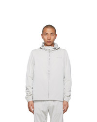 1017 Alyx 9Sm Grey Nightrider Shell Jacket