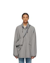 Maison Margiela Grey Recycled Sports Coat