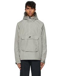 Nike Khaki Anorak Sportswear Hooded Jacket