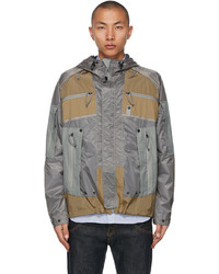 Junya Watanabe Khaki Mystery Ranch Edition In And Out Jacket
