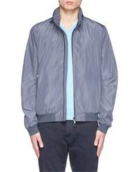 Armani Collezioni Retractable Hood Packable Blouson Jacket