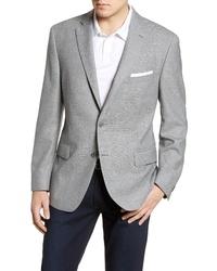 Hart Schaffner Marx Classic Fit Solid Wool Blazer