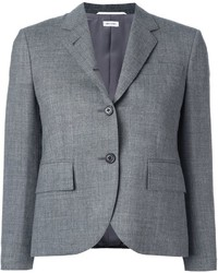 Thom Browne Cropped Sleeve Short Blazer
