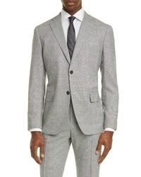 Eidos Fit Houndstooth Wool Sport Coat