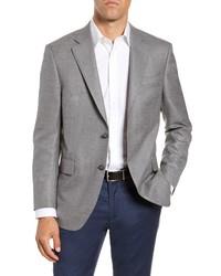 Peter Millar Flynn Classic Fit Solid Wool Sport Coat