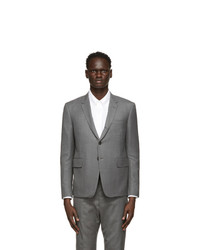 Thom Browne Grey High Armhole Sport Coat Blazer