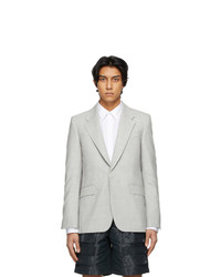 Givenchy Grey Melange Iconic Blazer