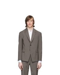 Deveaux New York Grey Suit Blazer