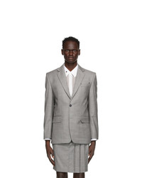 Situationist Grey Wool Classic Blazer