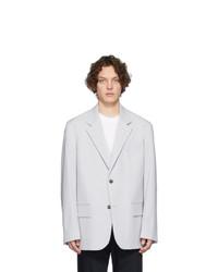Joseph Grey Wool David Blazer