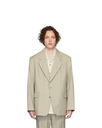 Martin Asbjorn Grey Wool Greenleaf Blazer