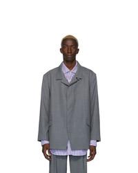Martin Asbjorn Grey Wool Trupo Blazer