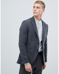 Jack & Jones Premium Blazer In Slim Fit With Wool Mix