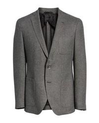 BOSS Raye Extra Trim Fit Wool Blend Blazer