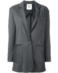 Semi-Couture Semicouture Patch Pocket Blazer