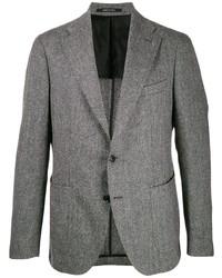 Tagliatore Single Breasted Wool Blazer