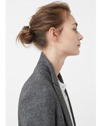 Mango Textured Wool Blazer